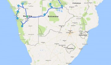 A picture of 17 Day Namibia/Okavango/Victoria Fall Accommodated Adventure 2020