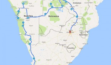 A picture of 25 Day Cape To Vic Fall & Zimbabwe Serviced Camp Adventure 2020
