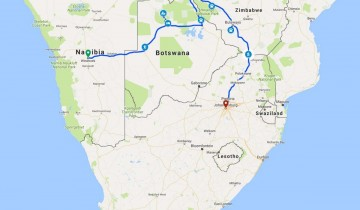A picture of 14 Day Okavango/Vic Falls To Johannesburg Camping Adventure 2020