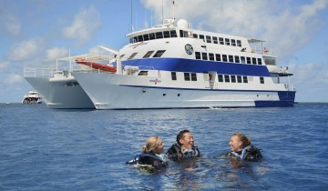 A picture of OceanQuest Liveaboard Trips to Outer Great Barrier Reef