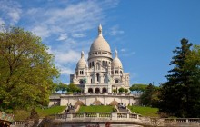 Private Notre Dame de Paris + Montmartre + Eiffel Tower (1-4pax)