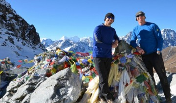 A picture of Everest Base Camp Trek with Gokyo Lake & Chola Pass-18 Days