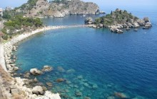 Taormina, Giardini Naxos & Castelmola from Catania