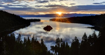 A picture of Lake Tahoe Winter Adventure Tour
