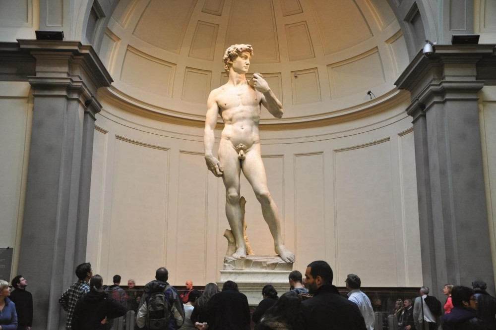 Accademia Gallery Monolingual Tour from Lucca