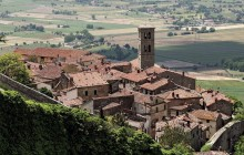 Assisi, Cortona and Perugia from San Gimignano