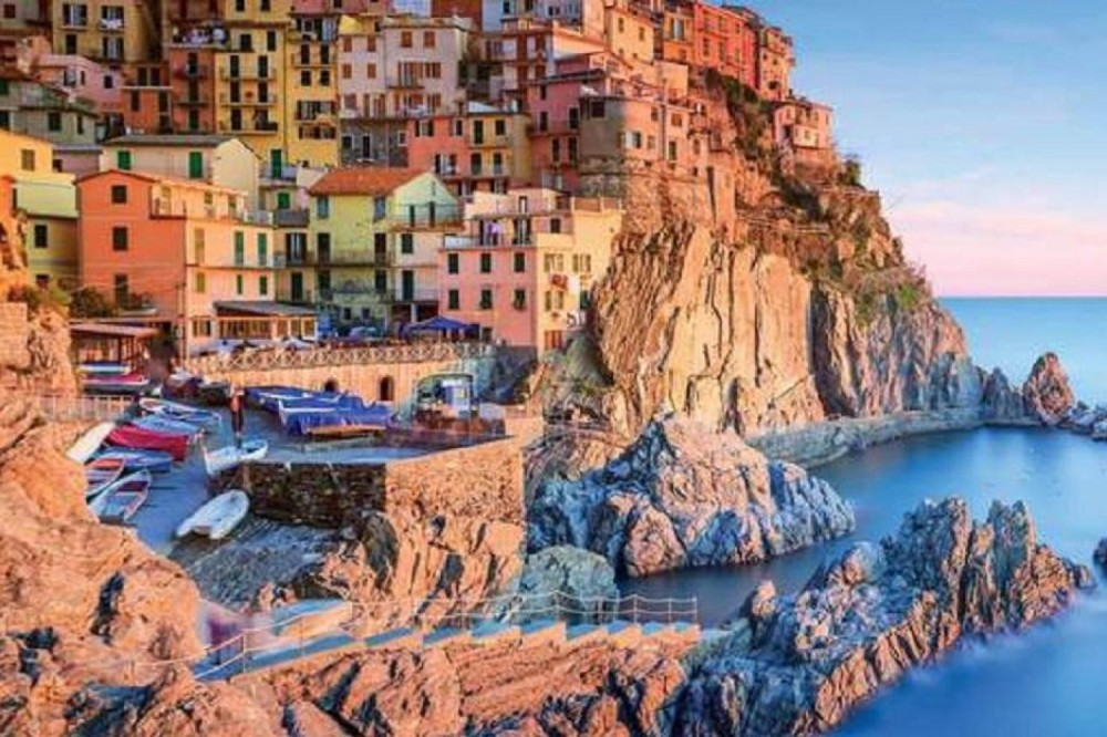 Small Group Cinque Terre & Portovenere from Montecatini