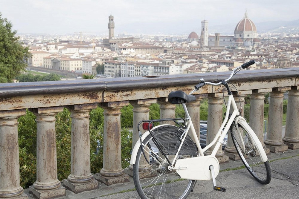 Florence Bike Ride Tour from Lucca