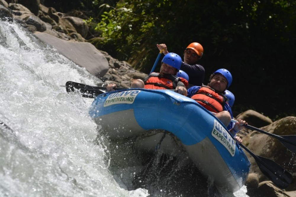 Start in San Jose, Raft, End in La Fortuna