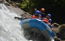 Start in San Jose, Raft, End in La Fortuna