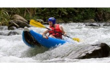 Inflatable Kayak and Hot Springs