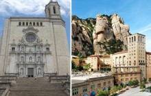 Girona + Montserrat With Cog Wheel Train From Barcelona