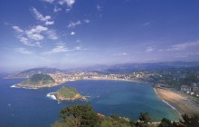 Loyola, Getaria, Zarauz and San Sebastian from Bilbao