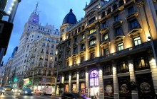 Madrid by Night and Casino Gran Vía with Dinner