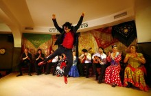 Madrid by Night and Flamenco Show at Café Chinitas