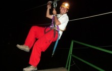Night Canopy Tour & Superman Zip Line Under Stars