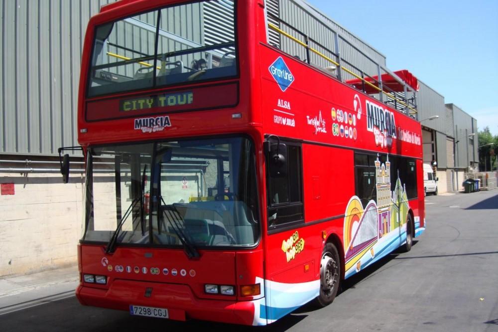 Murcia City Hop On Hop Off Bus Tour