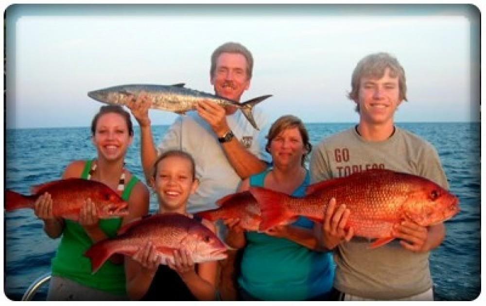 Deep Sea Fishing Charter: Half Day (4 hrs)