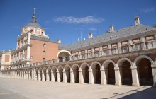 Toledo and Royal Site of Aranjuez from Madrid