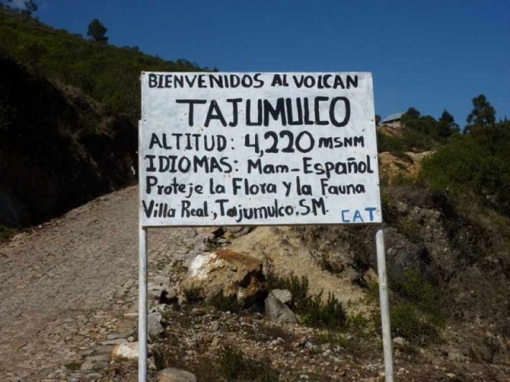 Volcano Tajumulco