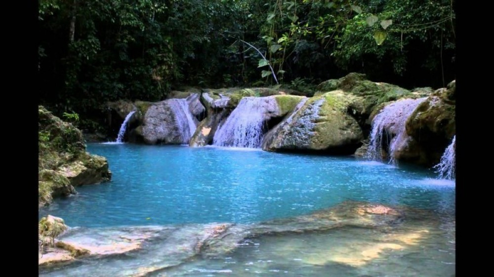 Island Gully Falls -the Blue Hole Ocho Rios