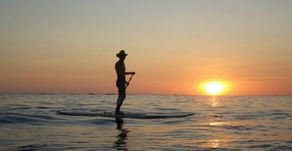 Stand Up Paddle on the Ocean in Playa Samara