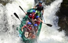 Rafting on the Tenorio River Class 3 and 4