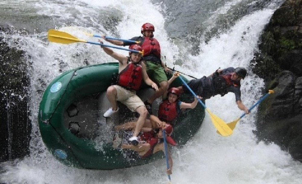 Without Transportation: Rafting the Tenorio River Class 3 & 4
