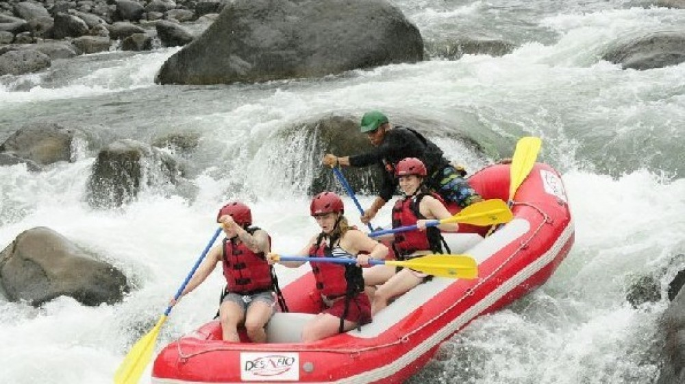 Overnight Rafting & Rainforest In Arenal
