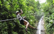 San José One Day Tour: Gravity Falls Waterfall Jumping + Lunch