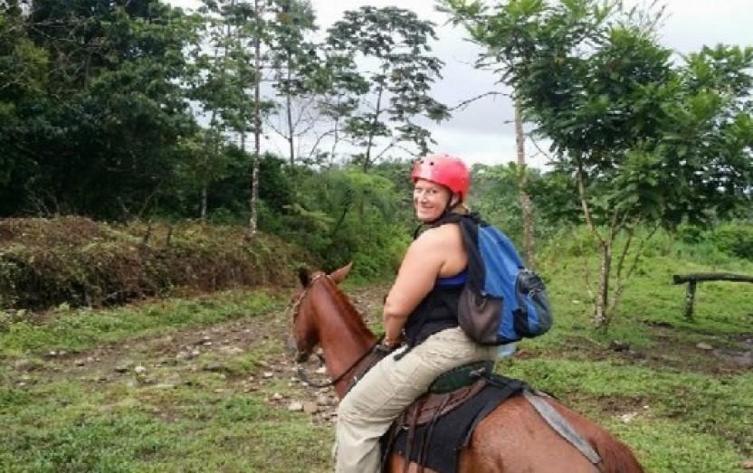 Horseback to Fortuna Waterfall & Indigenous Village