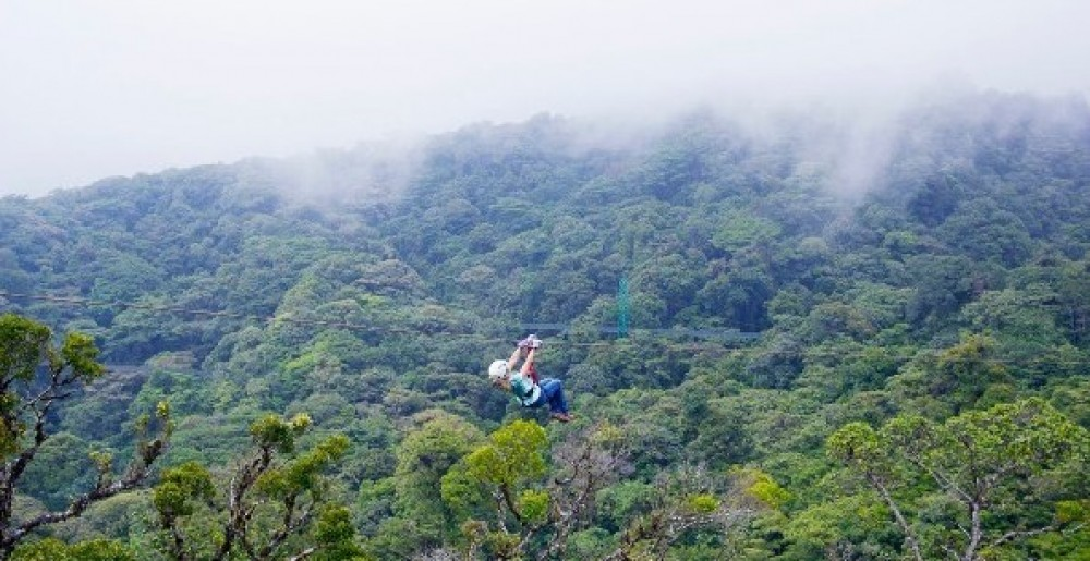 Guanacaste Day Tour: Monteverde Sky Adventures Ziplining + Lunch