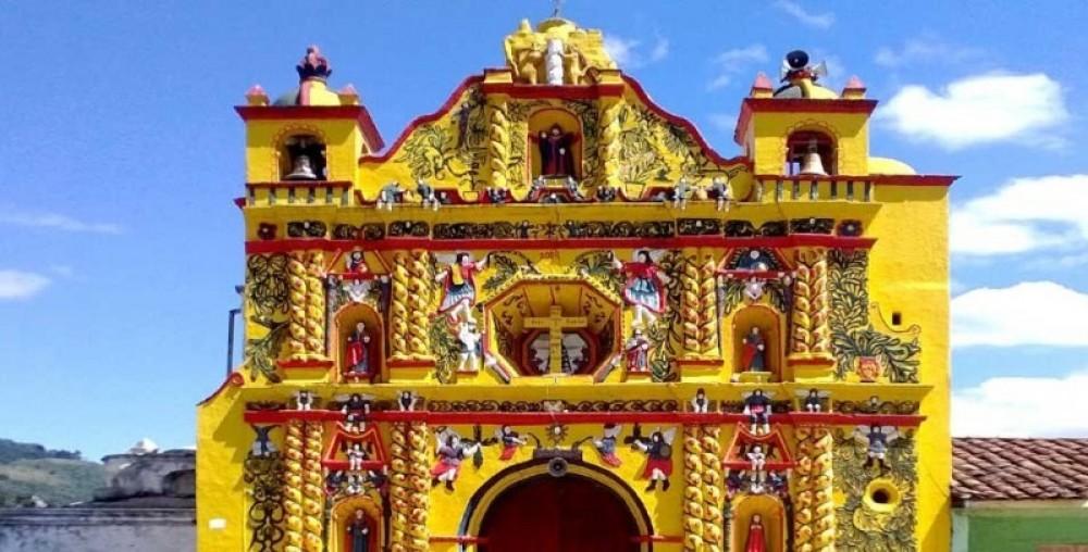 Colonial Churches, San Andres, Xecul, Salcaja and San Cristobal