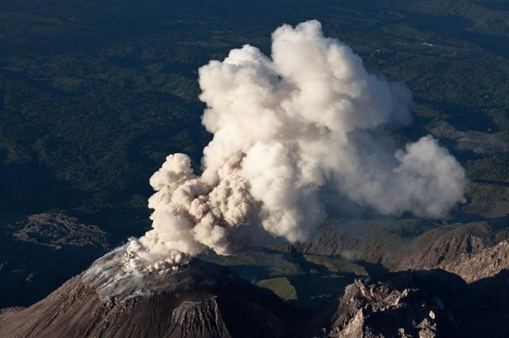 El Mirador Volcan Santiaguito