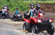 Extreme ATV Waterfall Jumper Tour