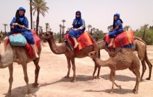 Camel Ride in Marrakech Palmeraie