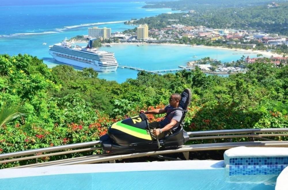Mystic Mountain Jamaica Bobsled from Ocho Rios