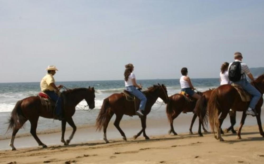 Horseback Riding On The Beach - Puerto Viejo