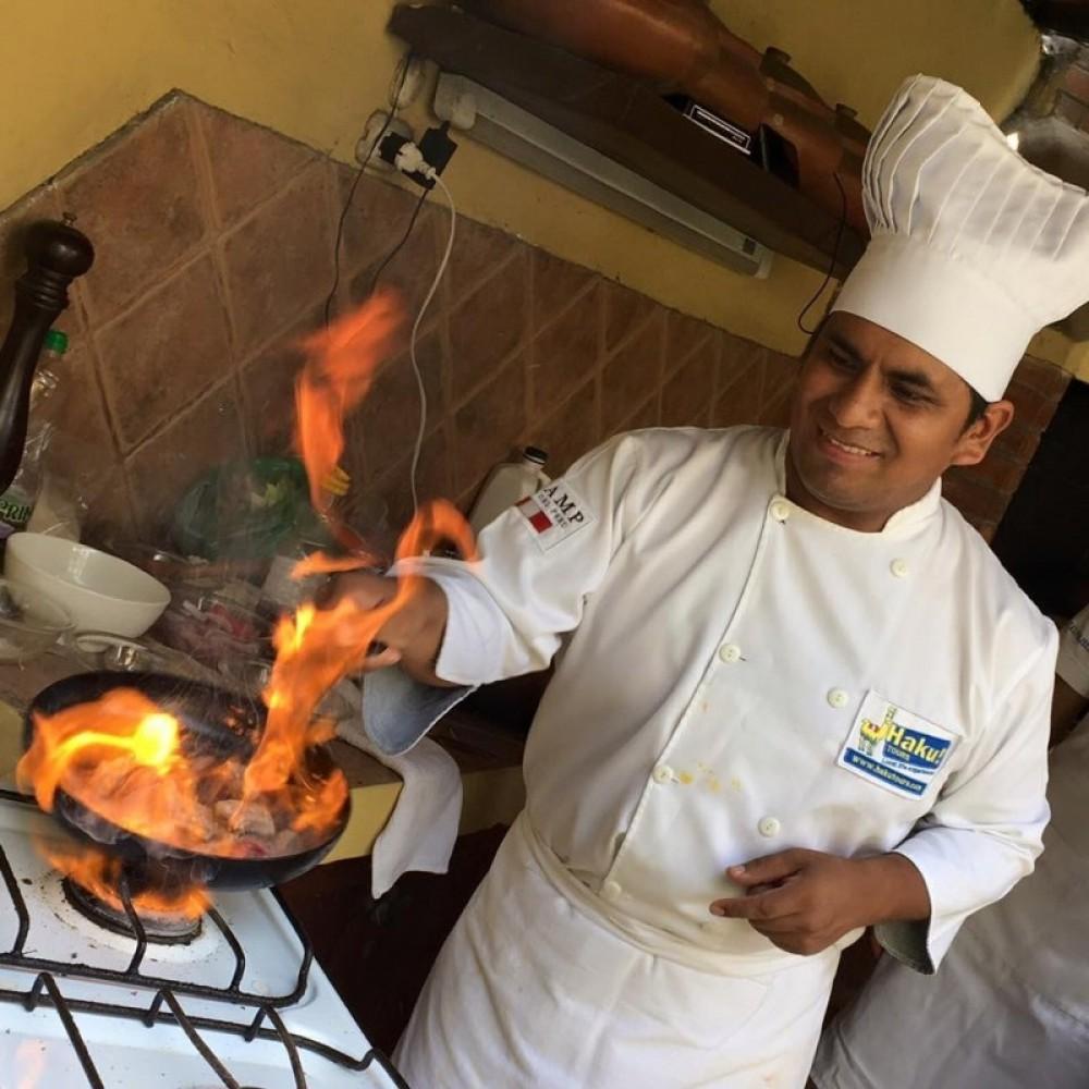 Peruvian Cooking Lesson + Local Market Tour