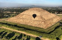 Hot Air Ballon With Tour Of The Pyramids Of Teotihuacan