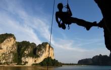 Half Day Rock Climbing Tour for Beginners at Railay Beach, Krabi