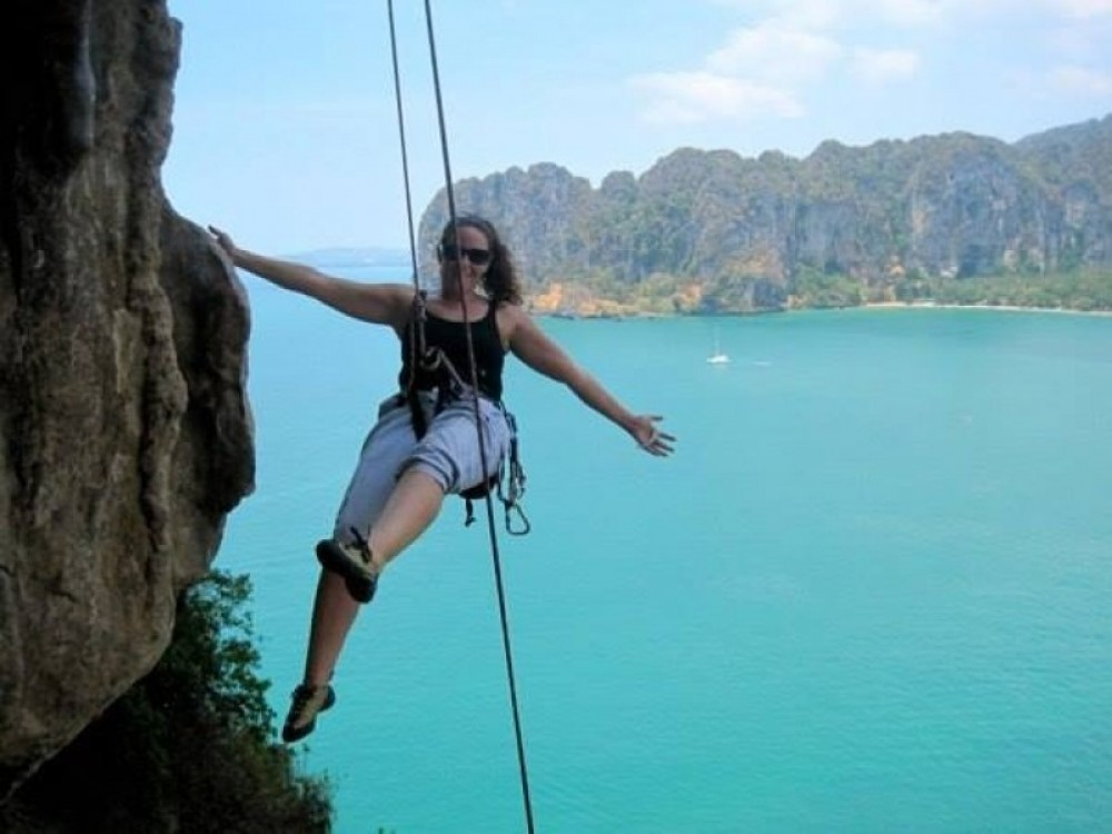Full Day Rock Climbing Tour for Beginners at Railay Beach, Krabi