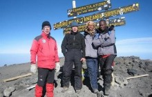 5 Days Mount Kilimanjaro trekking through Marangu route