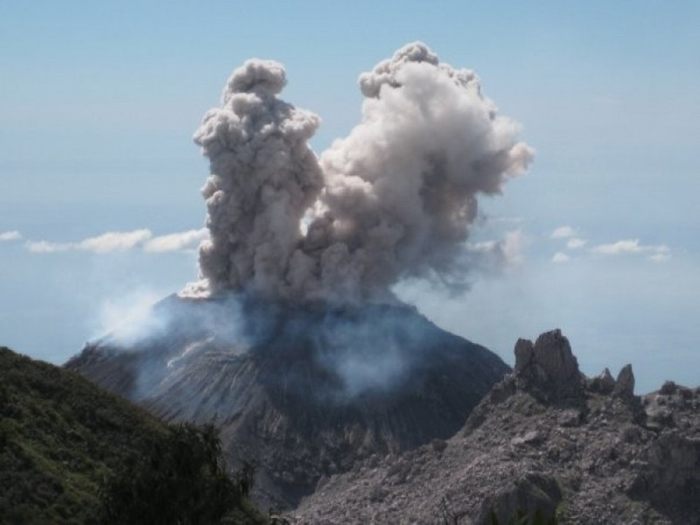 Overnight: Mirador Santiaguito Volcano