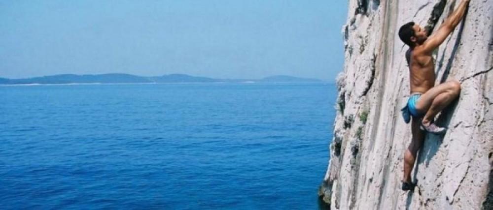 Split - Deep water solo