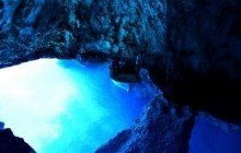 Explore the Blue Cave in Vis