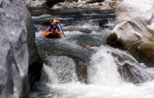 Inflatable Kayaking - Rio Cangrejal (Half day)
