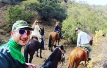 Horseback wine tour and a Chilean country grill