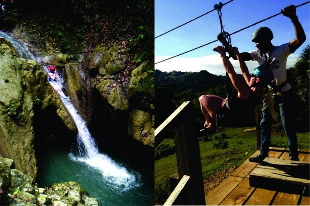 Zip N Splash Adventure plus Horseback Riding and Petting Zoo