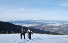 The 7 Rila Lakes Snowshoe Walk and Hot Springs